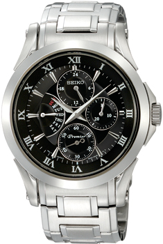 Японские наручные  мужские часы Seiko SRL023J1. Коллекция Premier от Bestwatch.ru