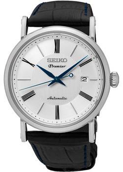Японские наручные  мужские часы Seiko SRPA17J2. Коллекци Premier