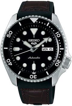 Японские наручные  мужские часы Seiko SRPD55K2. Коллекция Seiko 5 Sports.
