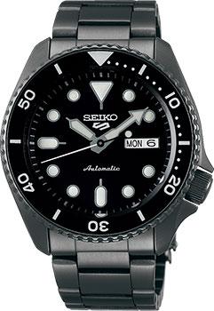 Японские наручные мужские часы Seiko SRPD65K1. Коллекция Seiko 5 Sports фото