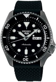 Японские наручные мужские часы Seiko SRPD65K2. Коллекция Seiko 5 Sports фото