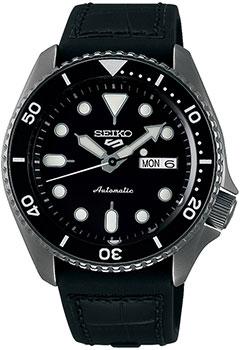 Японские наручные  мужские часы Seiko SRPD65K3. Коллекция Seiko 5 Sports.