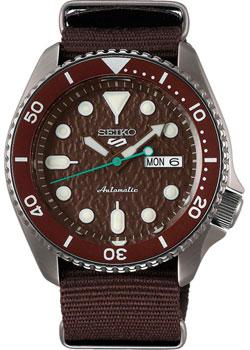 Японские наручные  мужские часы Seiko SRPD85K1. Коллекция Seiko 5 Sports.