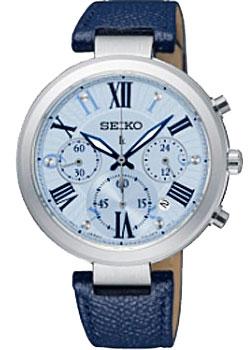 Японские наручные  женские часы Seiko SRW791P1. Коллекция Lukia