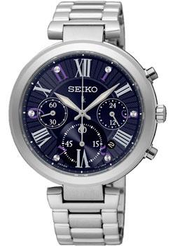 Японские наручные  женские часы Seiko SRW797P1. Коллекция Lukia