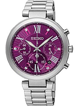 Японские наручные  женские часы Seiko SRW799P1. Коллекция Lukia