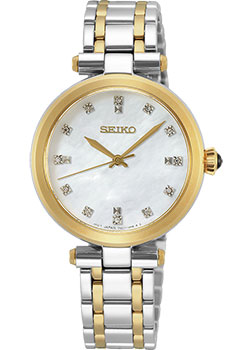 Японские наручные  женские часы Seiko SRZ532P1. Коллекция Lukia.