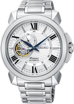 Японские наручные мужские часы Seiko SSA369J1. Коллекция Premier фото