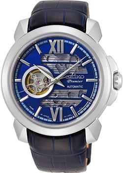 Японские наручные  мужские часы Seiko SSA399J1. Коллекция Premier.