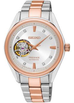 Японские наручные  женские часы Seiko SSA810J1. Коллекция Presage