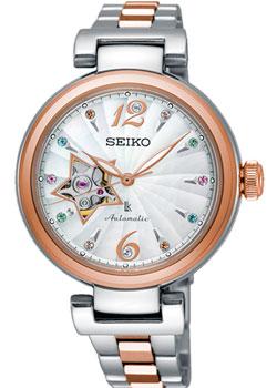 Японские наручные  женские часы Seiko SSA814J1. Коллекция Lukia