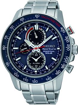 Японские наручные  мужские часы Seiko SSC355P1. Коллекци Sportura