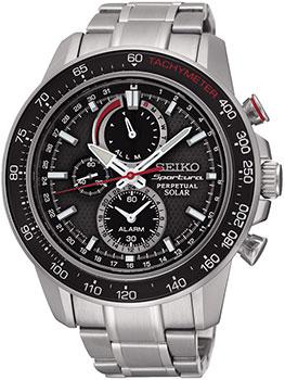 Японские наручные  мужские часы Seiko SSC357P1. Коллекци Sportura