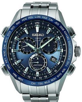 Японские наручные  мужские часы Seiko SSE005J1. Коллекция Astron