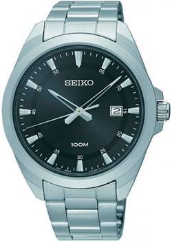 Японские наручные мужские часы Seiko SUR209P1. Коллекция Promo фото