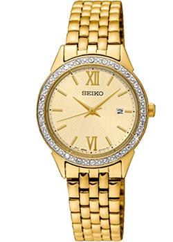 Японские наручные  женские часы Seiko SUR688P1. Коллекция Promo
