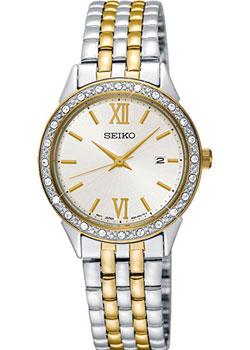 Японские наручные  женские часы Seiko SUR690P1. Коллекция Promo