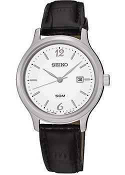 Японские наручные  женские часы Seiko SUR791P1. Коллекция Promo