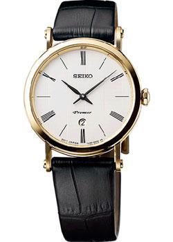 Японские наручные женские часы Seiko SXB432P1. Коллекция Premier фото