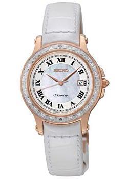 Японские наручные  женские часы Seiko SXDF08J1. Коллекция Premier