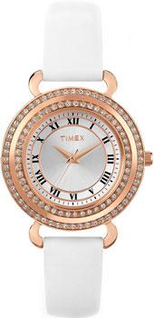 женские часы Timex T2P230. Коллекция Crystal