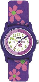 женские часы Timex T89022. Коллекция Kids