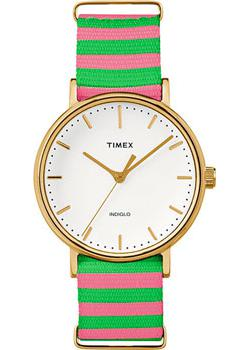 женские часы Timex TW2P91800. Коллекция Weekender