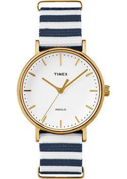 женские часы Timex TW2P91900. Коллекция Weekender