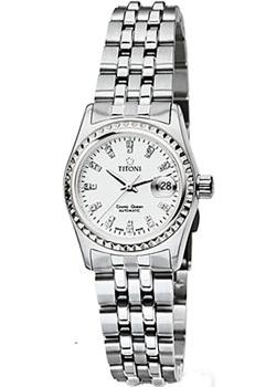 Швейцарские наручные женские часы Titoni 728-S-307. Коллекция Cosmo Queen
