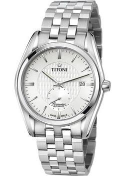 Швейцарские наручные  мужские часы Titoni 83709-S-500. Коллекци Airmaster