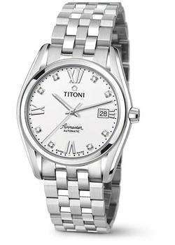 Швейцарские наручные мужские часы Titoni 83909-S-063. Коллекция Airmaster