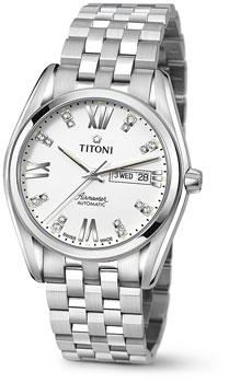 Швейцарские наручные  мужские часы Titoni 93709-S-385. Коллекци Airmaster