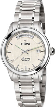 Швейцарские наручные мужские часы Titoni 93933-S-332. Коллекция Airmaster