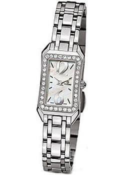 Швейцарские наручные  женские часы Titoni TQ-42923-S-DB-028. Коллекци Mademoiselle by Titoni
