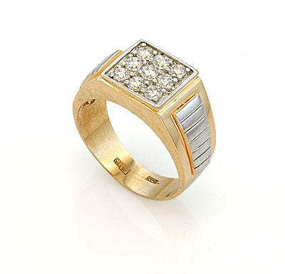 Фото бриллиантовых колец: кольцо с сапфиром серебро, кольца с бриллиантовой крошкой. Мужские перстни из золота